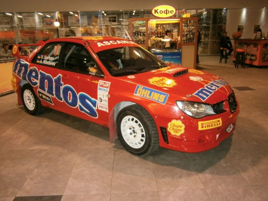 Любители автоспорта в Херсоне уже сейчас могут взглянуть на боевую раллийную машину «Subaru WRX STI N12»., фото-1