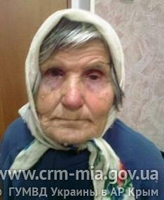 Милиция ищет родственников потерявшейся в Керчи босой старушки, фото-1
