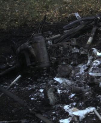 На Кировоградщине разбился самодельный мотодельтаплан, пилот погиб (Фото), фото-1