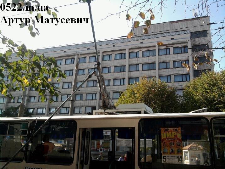 В центре Кировограда произошло необычное ДТП (Фото), фото-1