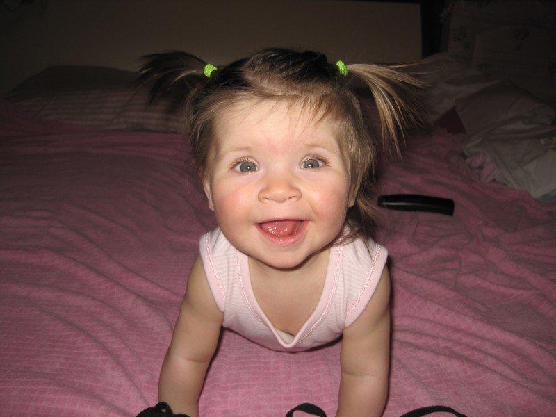 Херсон нашел самую счастливую малышку!, фото-1