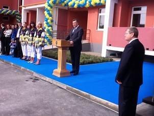 Президент Янукович открыл в Днепропетровске новый дом (ФОТО), фото-1
