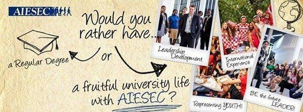 We`re AIESEC. Крупнейшая международная молодежная организация в мире проводит набор участников!, фото-1