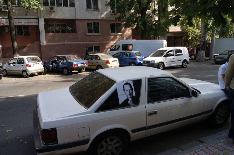 В Одессе открыли первый в СНГ памятник в честь Стива Джобса (фоторепортаж), фото-9