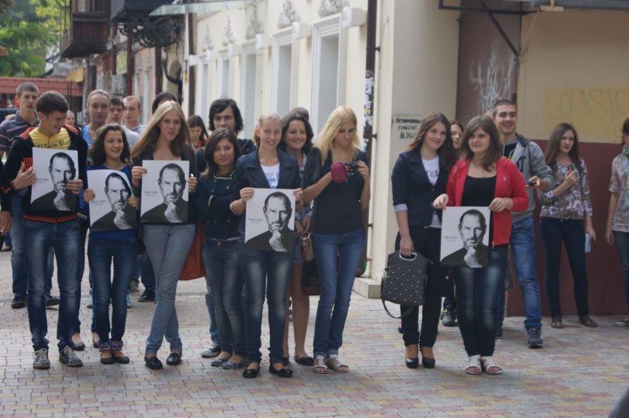 В Одессе открыли первый в СНГ памятник в честь Стива Джобса (фоторепортаж), фото-2