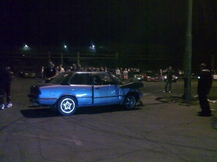 Под визг колес одесский дрифтер разбил машину в хлам, а пассажира отправил на больничную койку (Фото), фото-1