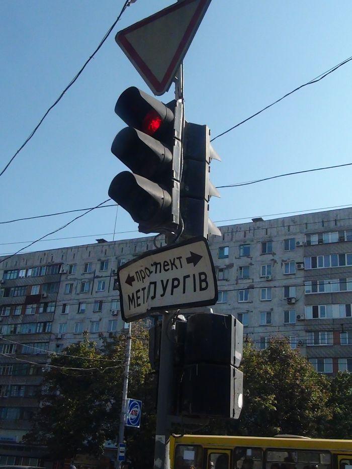 В центре Мариуполя фура разнесла светофор (ФОТО), фото-4