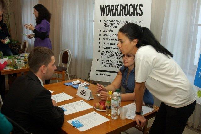 В днепропетровском дворце компании-лидеры выбирали студентов и выпускников (ФОТО), фото-2