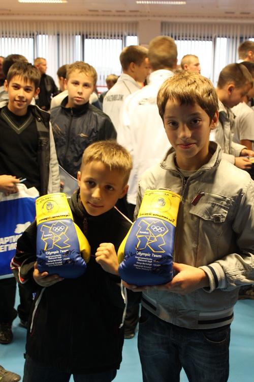 Мариуполь посетила олимпийская сборная Украины по боксу, фото-4
