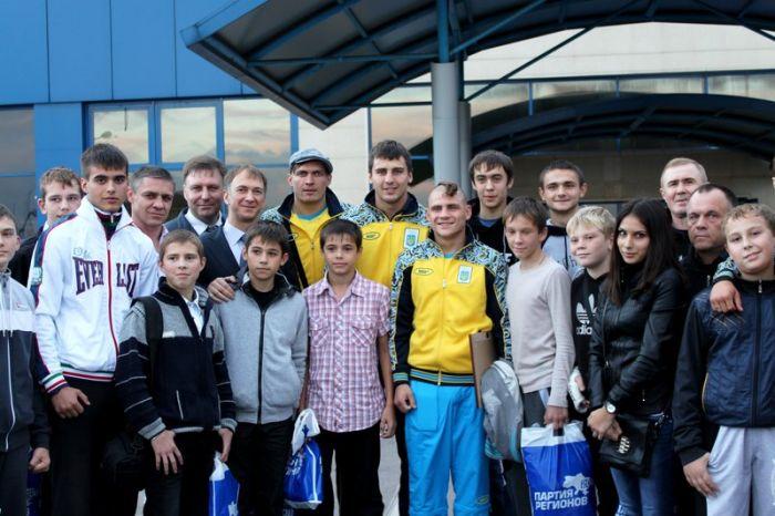 Мариуполь посетила олимпийская сборная Украины по боксу, фото-6