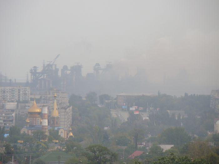 Вонь в центре Мариуполя: НМУ идут на опережение (ФОТО), фото-1