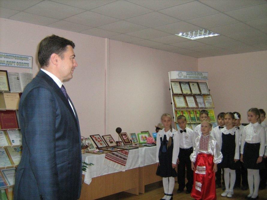 В Днепропетровске первый замминистра образования посетил родные места (ФОТО), фото-1