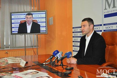 В Днепропетровске Кличко рассказал, что он думает об импичменте президенту Януковичу (ФОТО), фото-1