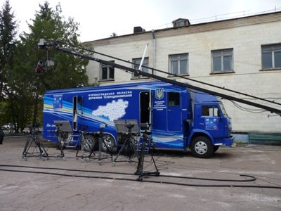 В Кировограде появилась новая передвижная телевизионная студия, фото-1