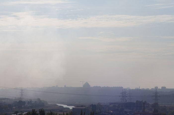 В сентябре над Мариуполем смог висел в течение 23 дней (ФОТО, Видео), фото-1