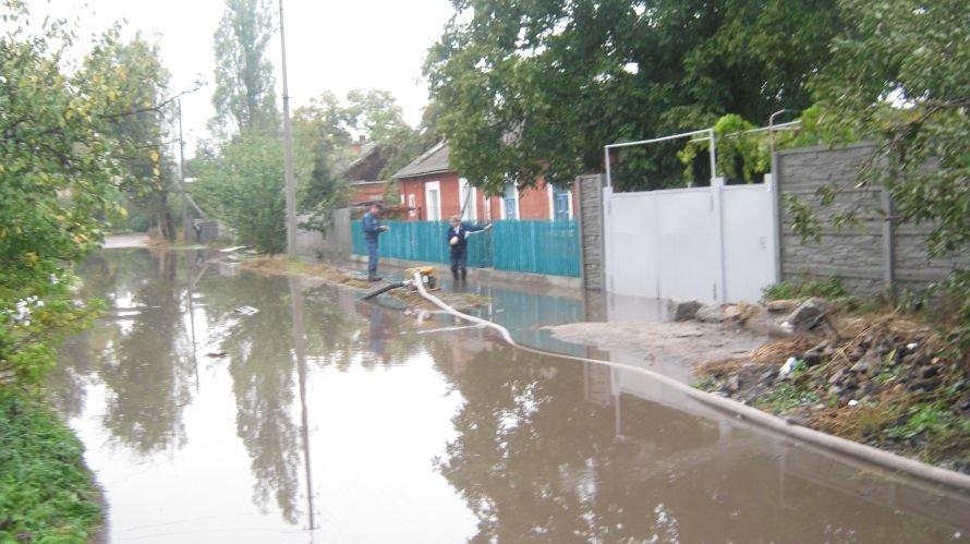 В Александрии затопило улицы, фото-1