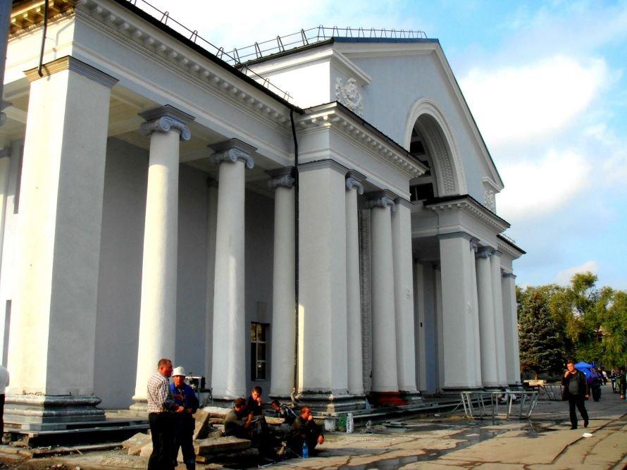 В Кривом Роге не успели отремонтировать театр в срок: работа все еще кипит (ФОТО), фото-13