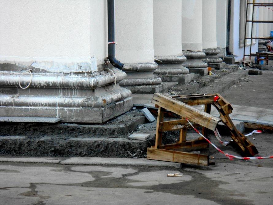 В Кривом Роге не успели отремонтировать театр в срок: работа все еще кипит (ФОТО), фото-7