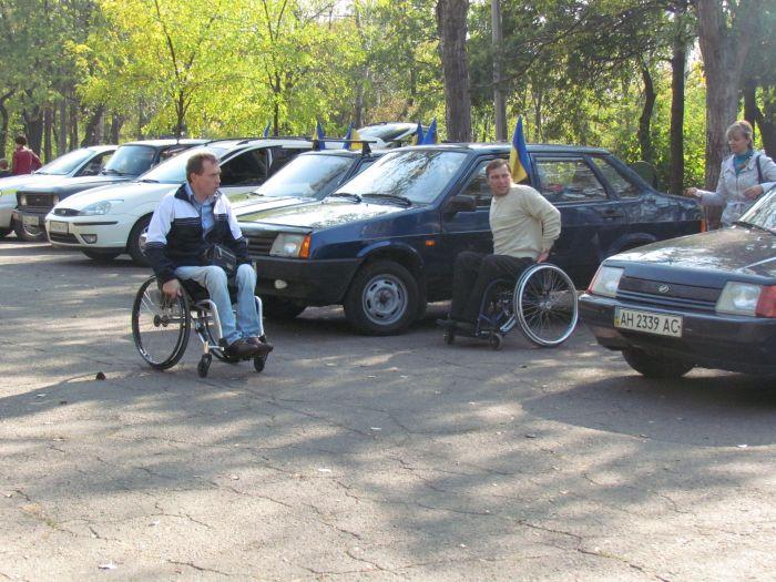 В Мариуполе губернаторский автопробег встретили батоном (ФОТО), фото-6