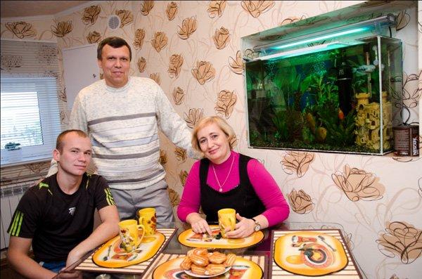 семья Стельмашенко
