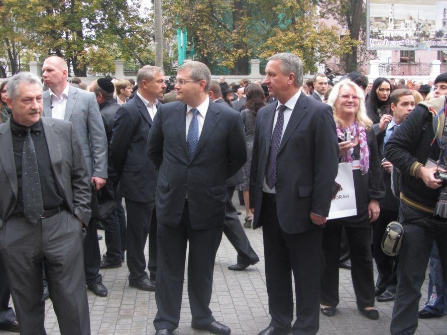 «Менору» в Днепропетровске открывали политики, олигархи и религиозные лидеры еврейского народа (ФОТОРЕПОРТАЖ), фото-3