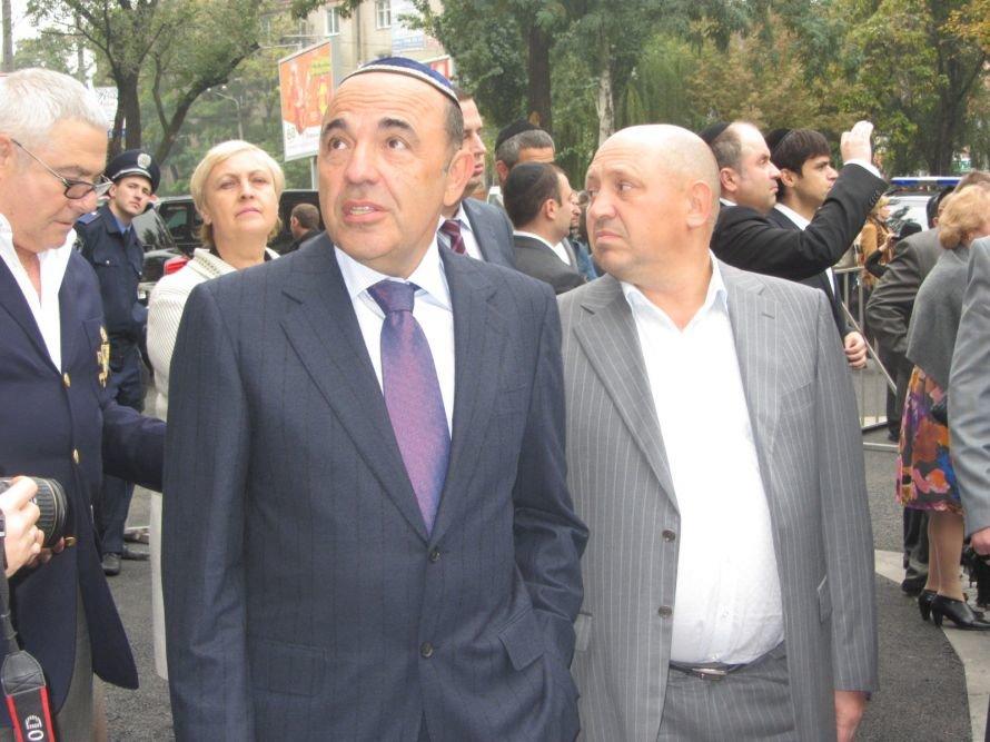 «Менору» в Днепропетровске открывали политики, олигархи и религиозные лидеры еврейского народа (ФОТОРЕПОРТАЖ), фото-4