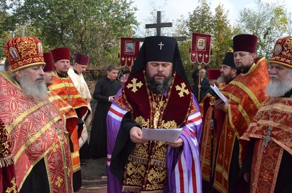 В Кривом Роге владыка Ефрем утвердил проект строительства нового храма (ФОТО), фото-2
