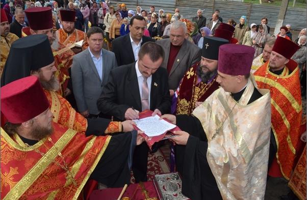 В Кривом Роге владыка Ефрем утвердил проект строительства нового храма (ФОТО), фото-1