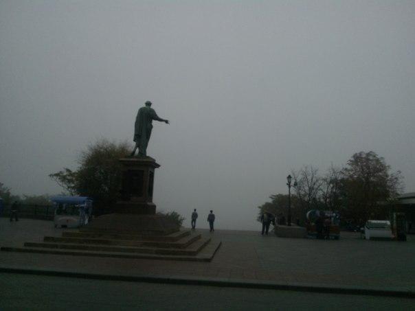 Фотофакт: одесские туманы оставили город без морвокзала, фото-1