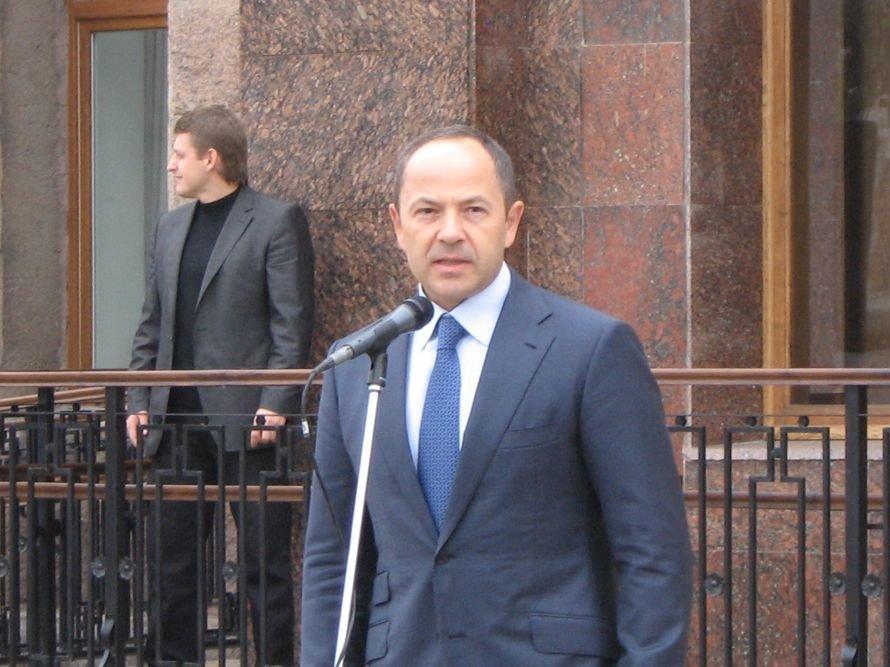Министр социальной политики Сергей Тигипко сегодня посетил Кировоград, фото-1