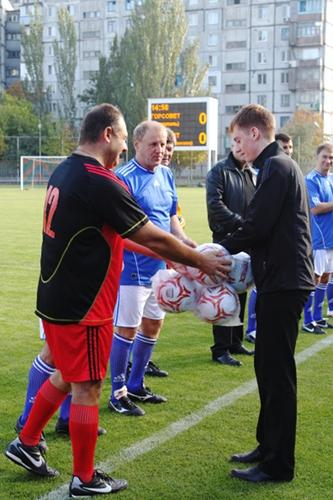 Матч в поддержку спорта между Мариупольским горсоветом и Першотравневым районом, фото-3