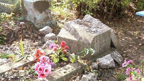 На Днепропетровщине вандал надругался над могилами (ФОТО), фото-2
