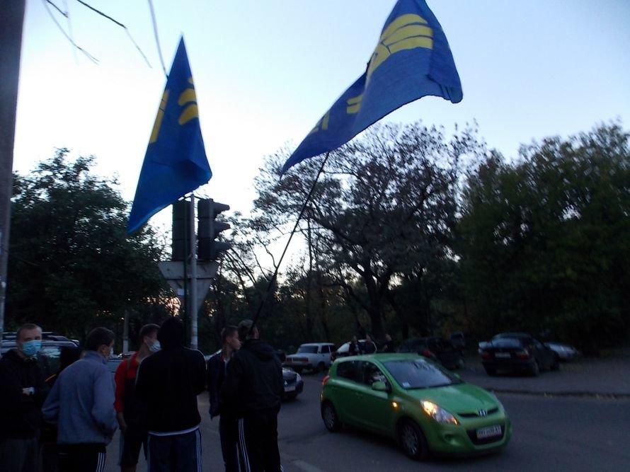 В Одессе прошла «горячая встреча» националистов, коммунистов и гончаренковцев: милиции пришлось создавать кордоны, фото-1