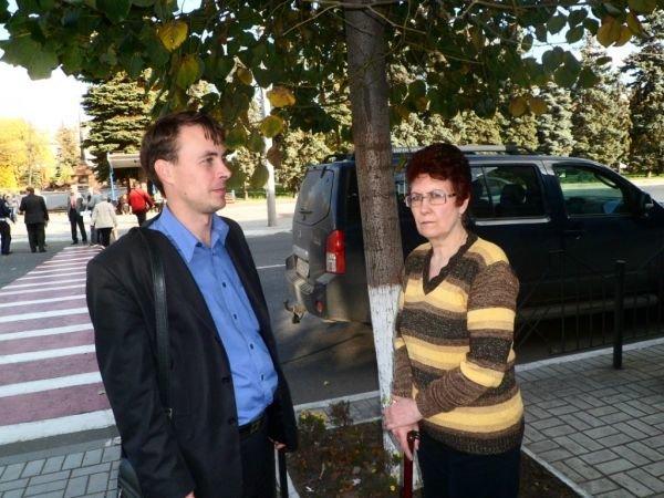 Вера Давыдовна и адвокат Николай