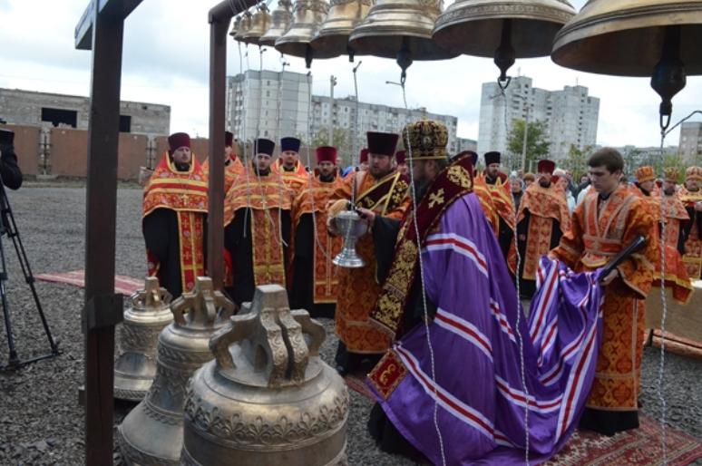 В Кривом Роге владыка Ефрем освятил кресты и купола нового храма (ФОТО), фото-2