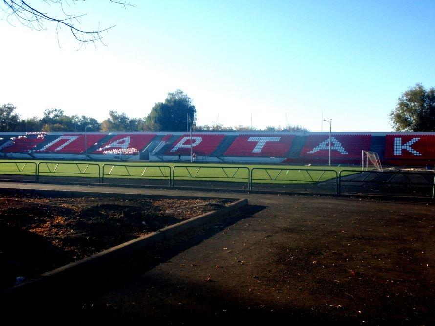 Реконструкция стадиона «Спартак» в Кривом Роге подходит к концу (ФОТО), фото-1