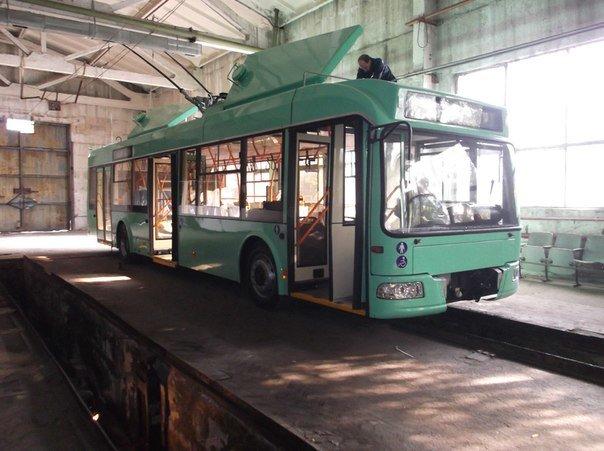 Козырь в рукаве? Новенькие зеленые троллейбусы мариупольцам  презентуют за  четыре дня до выборов (Фотофакт), фото-1