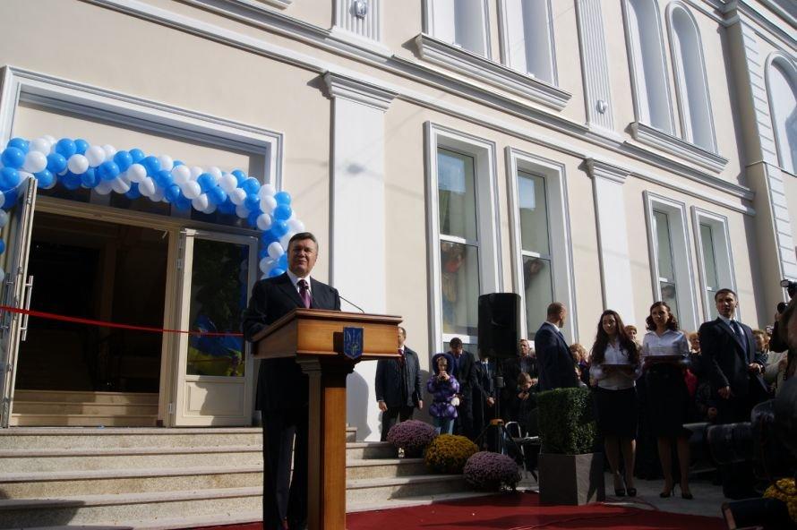 Янукович споткнулся и чуть не улетел из Одессы на воздушном шаре (Фото, Видео), фото-1