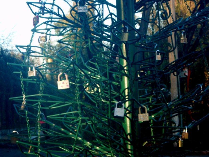 Безопасны ли замочки, которые влюбленные вешают на мосту в парке им. газеты «Правда» в Кривом Роге? (ФОТО), фото-8