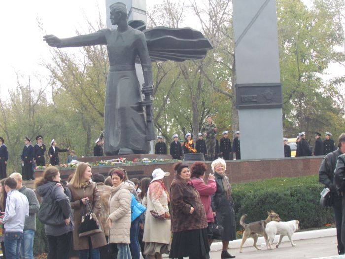 В Мариуполе почтили память воинов-освободителей (ФОТОРЕПОРТАЖ), фото-12