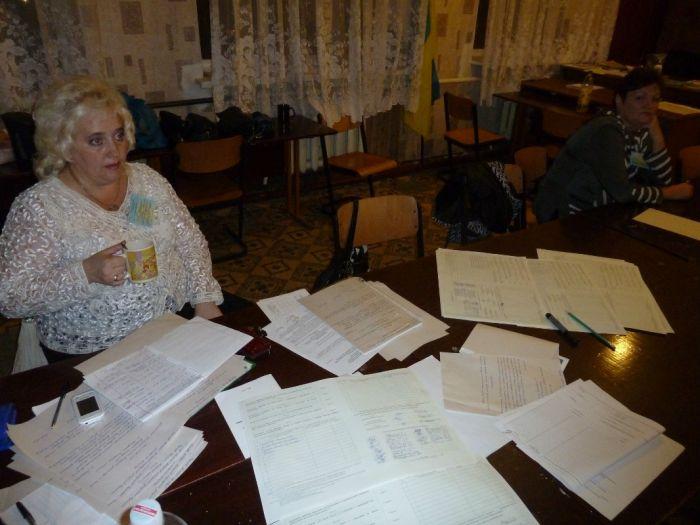 В Мариуполе председатель комиссии подписала чистые протоколы (ФОТО), фото-5