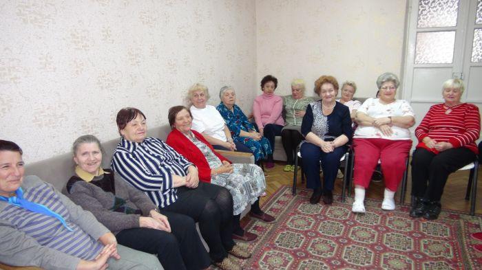 Участники часа исторической памяти