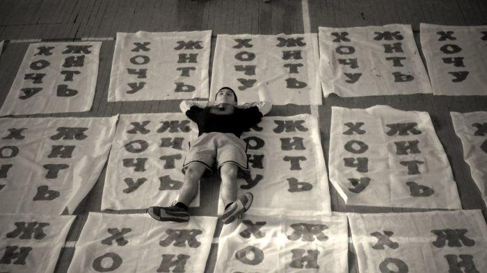 В Мариуполе фанаты устроили экологическую акцию во время футбольного матча (ФОТОРЕПОРТАЖ), фото-8