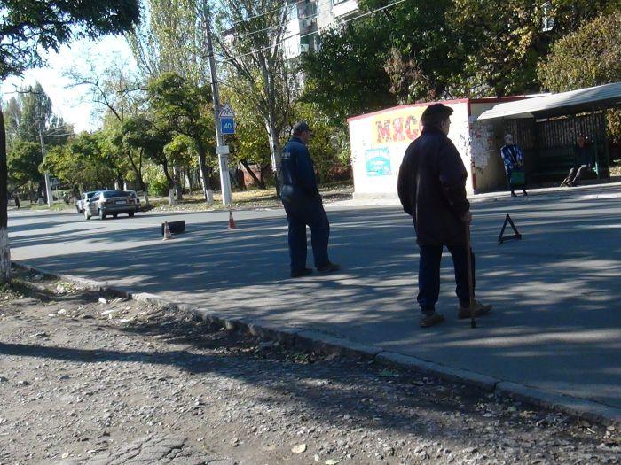 В Мариуполе  женщина попала под колеса «Волги» (ФОТО), фото-2