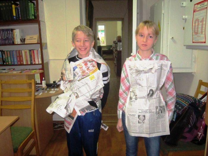 В Мариуполе школьники шили костюмы из газет и жарили котлеты с помощью мимики (ФОТО), фото-3