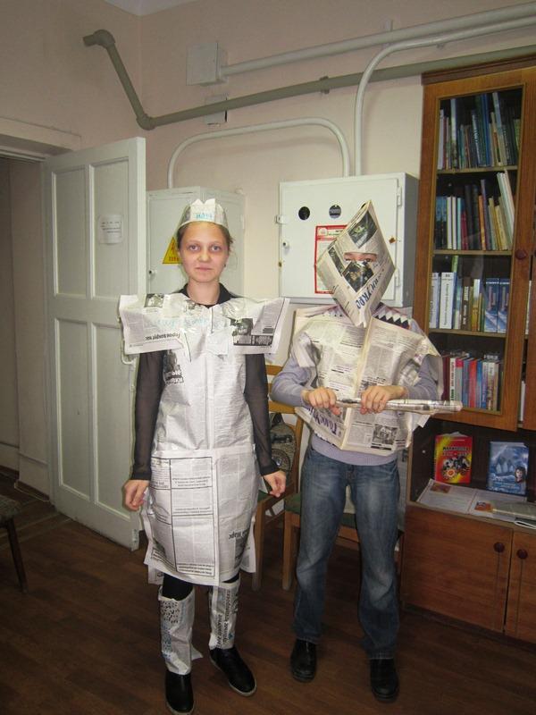 В Мариуполе школьники шили костюмы из газет и жарили котлеты с помощью мимики (ФОТО), фото-4