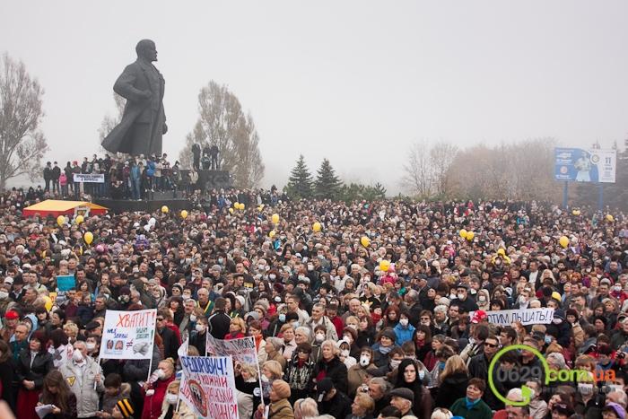 В  Мариуполе экологический митинг собрал тысячи человек (Дополнено+ФОТОРЕПОРТАЖ + ВИДЕО), фото-46