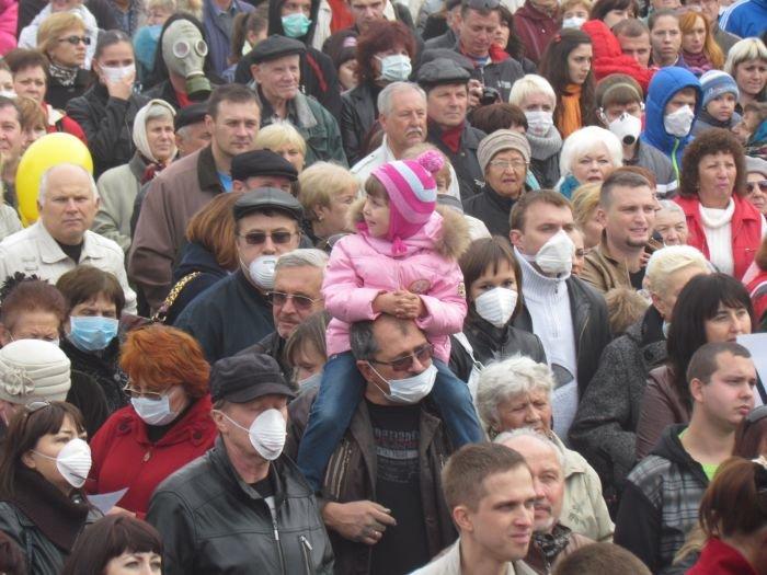 В  Мариуполе экологический митинг собрал тысячи человек (Дополнено+ФОТОРЕПОРТАЖ + ВИДЕО), фото-7