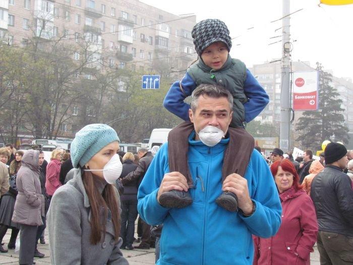 В  Мариуполе экологический митинг собрал тысячи человек (Дополнено+ФОТОРЕПОРТАЖ + ВИДЕО), фото-31