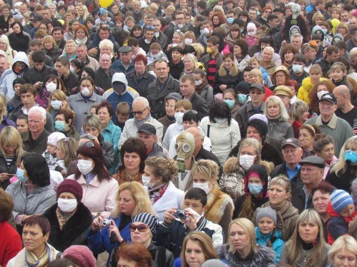 В  Мариуполе экологический митинг собрал тысячи человек (Дополнено+ФОТОРЕПОРТАЖ + ВИДЕО), фото-37